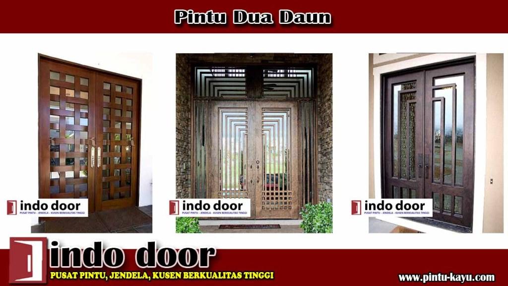 Pintu Dua Daun