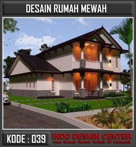 Arsitek Desain Rumah Mewah Bu Lisda