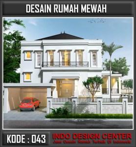 Arsitek Desain Rumah Mewah Bapak Albert