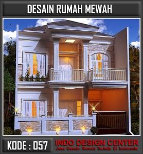 Arsitek Desain Rumah Mewah Bu Melani