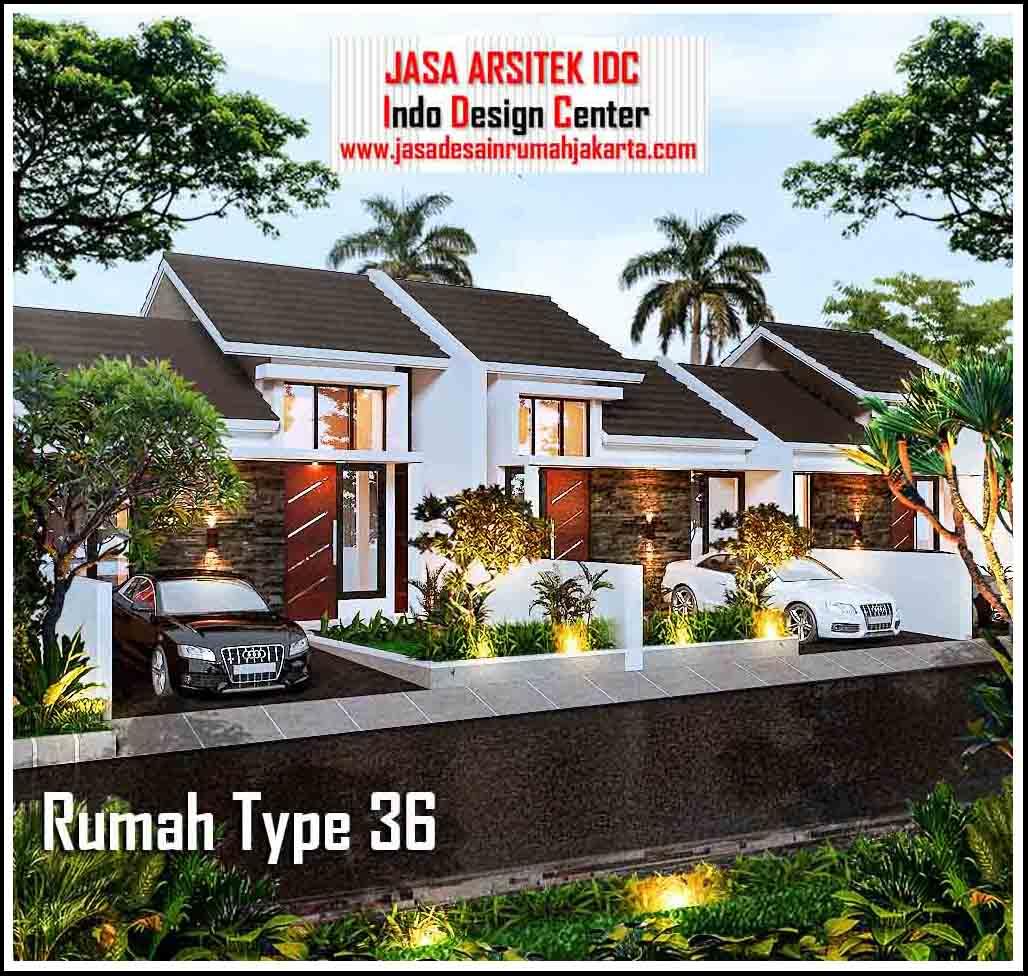 Desain Rumah Minimalis Type 36 || Jasa Desain Rumah ...