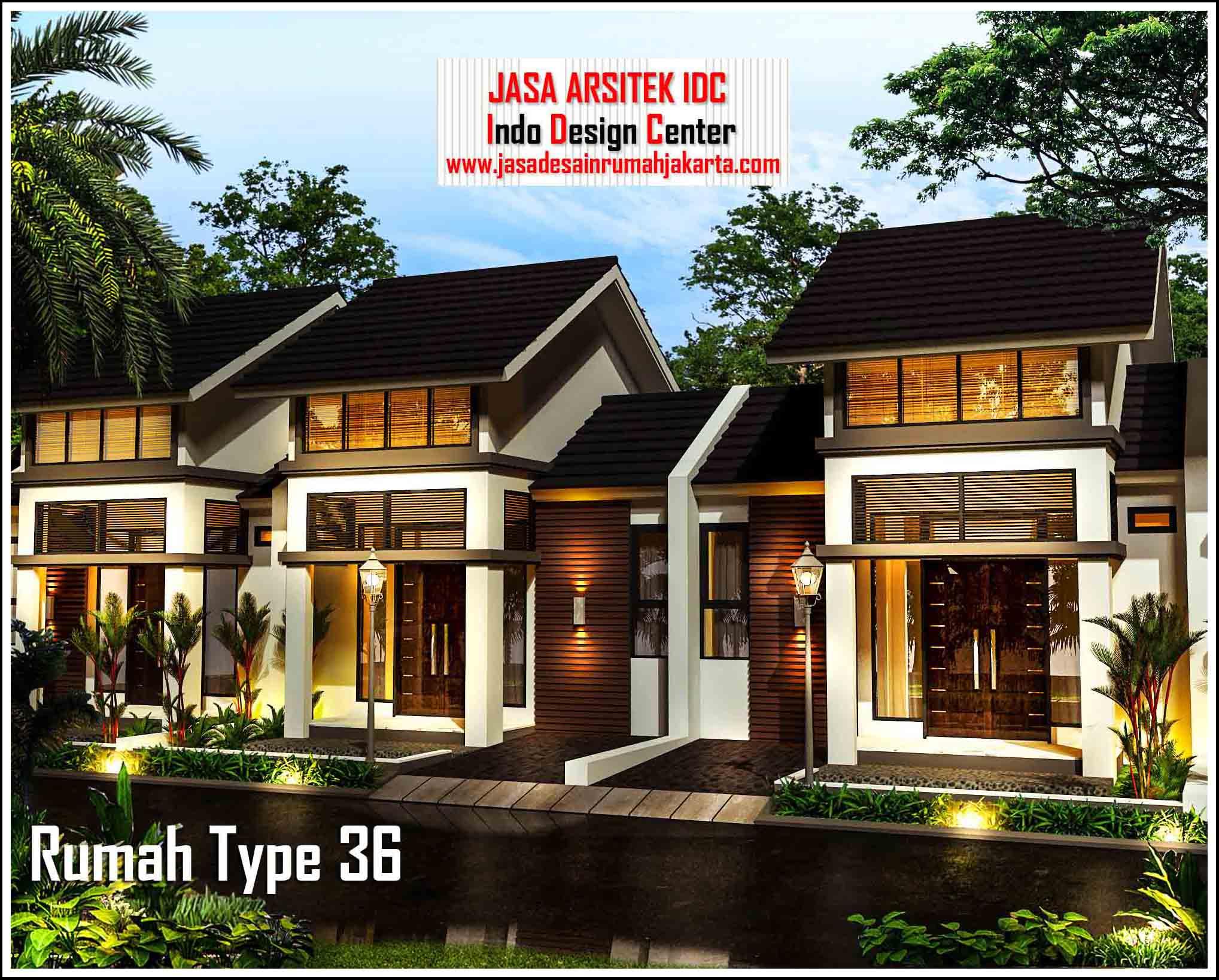 Desain Rumah Type 36 Minimalis Modern || Jasa Desain Rumah ...