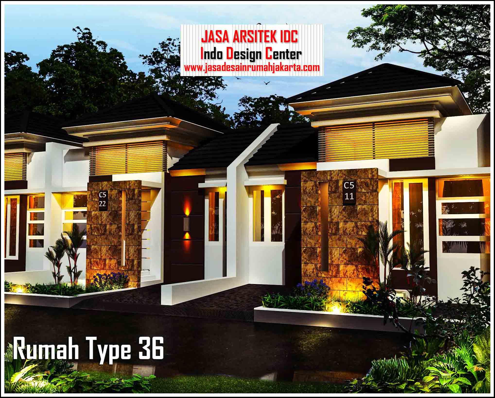 Gambar Rumah Type 36 Minimalis || Jasa Desain Rumah Murah ...