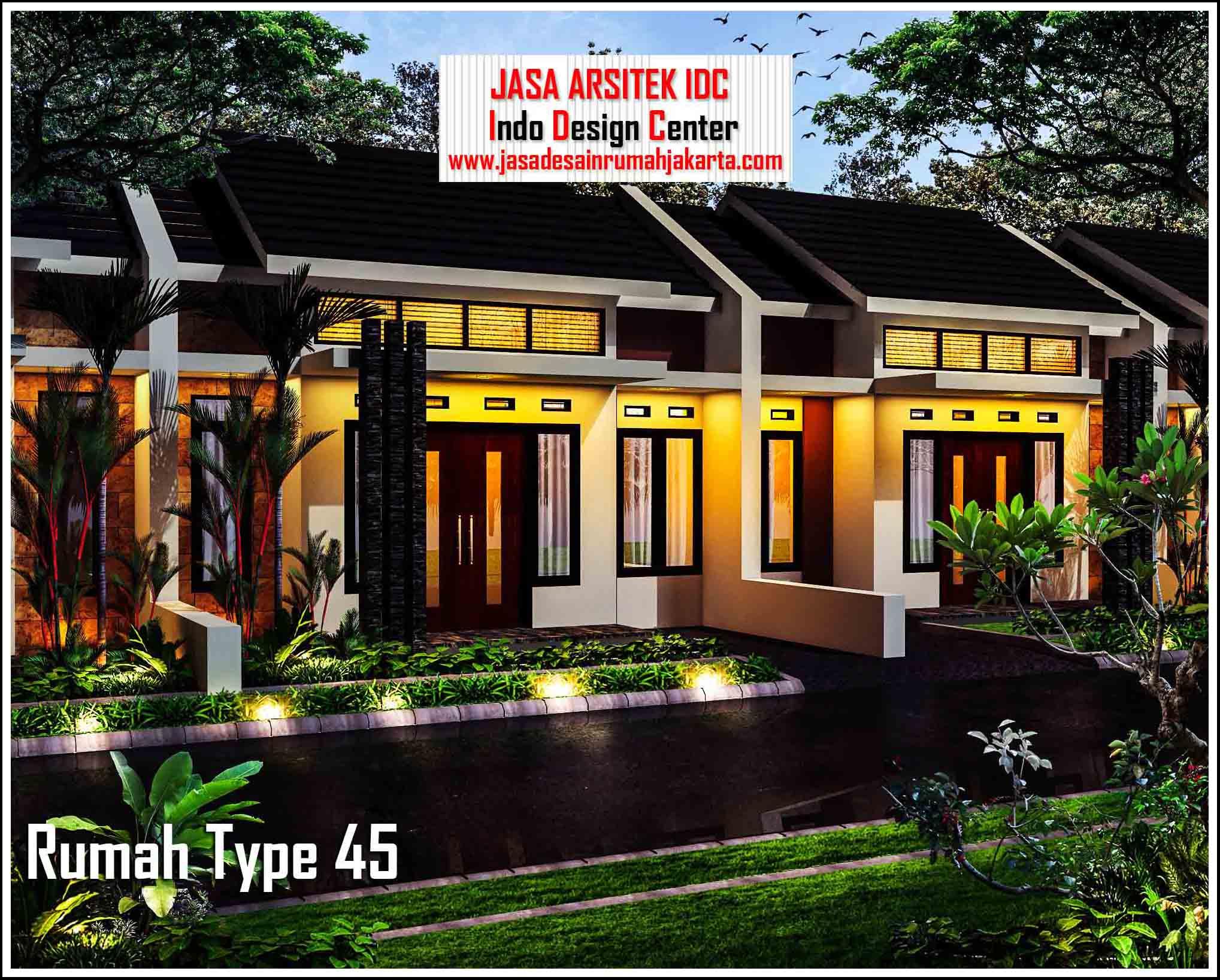 Desain Rumah Type 45 Arsip - Jasa Desain Rumah Jakarta ...