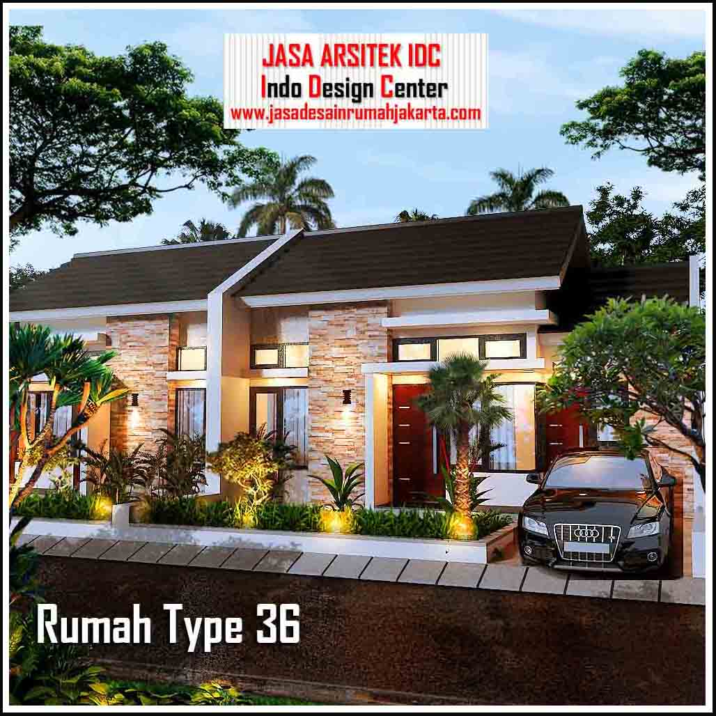 Jasa Desain Rumah Minimalis Type 36 View 02