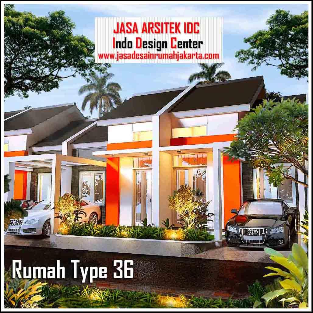 Rumah Type 36 Minimalis 2018 || Jasa Arsitek Rumah Indo ...