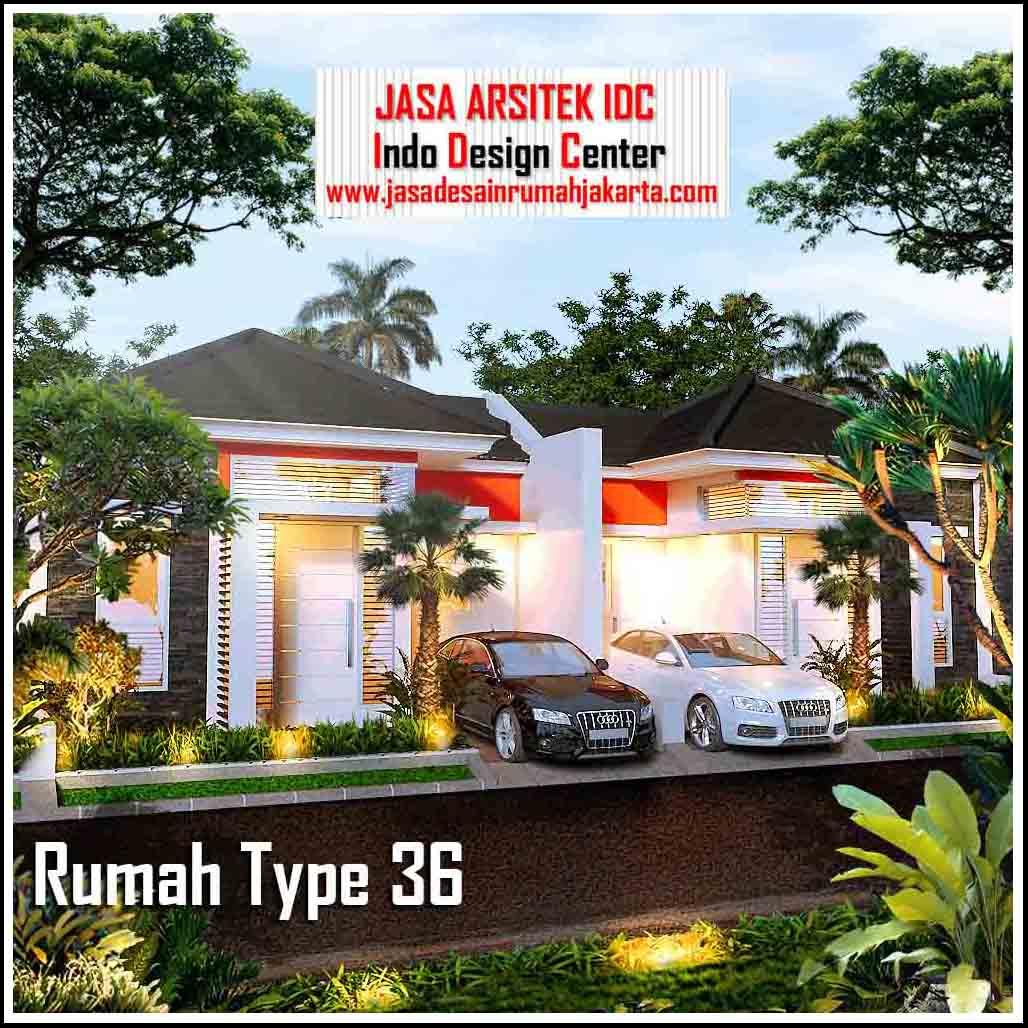 Rumah Type 36 Minimalis Modern 2018 || Jasa Desain Rumah ...