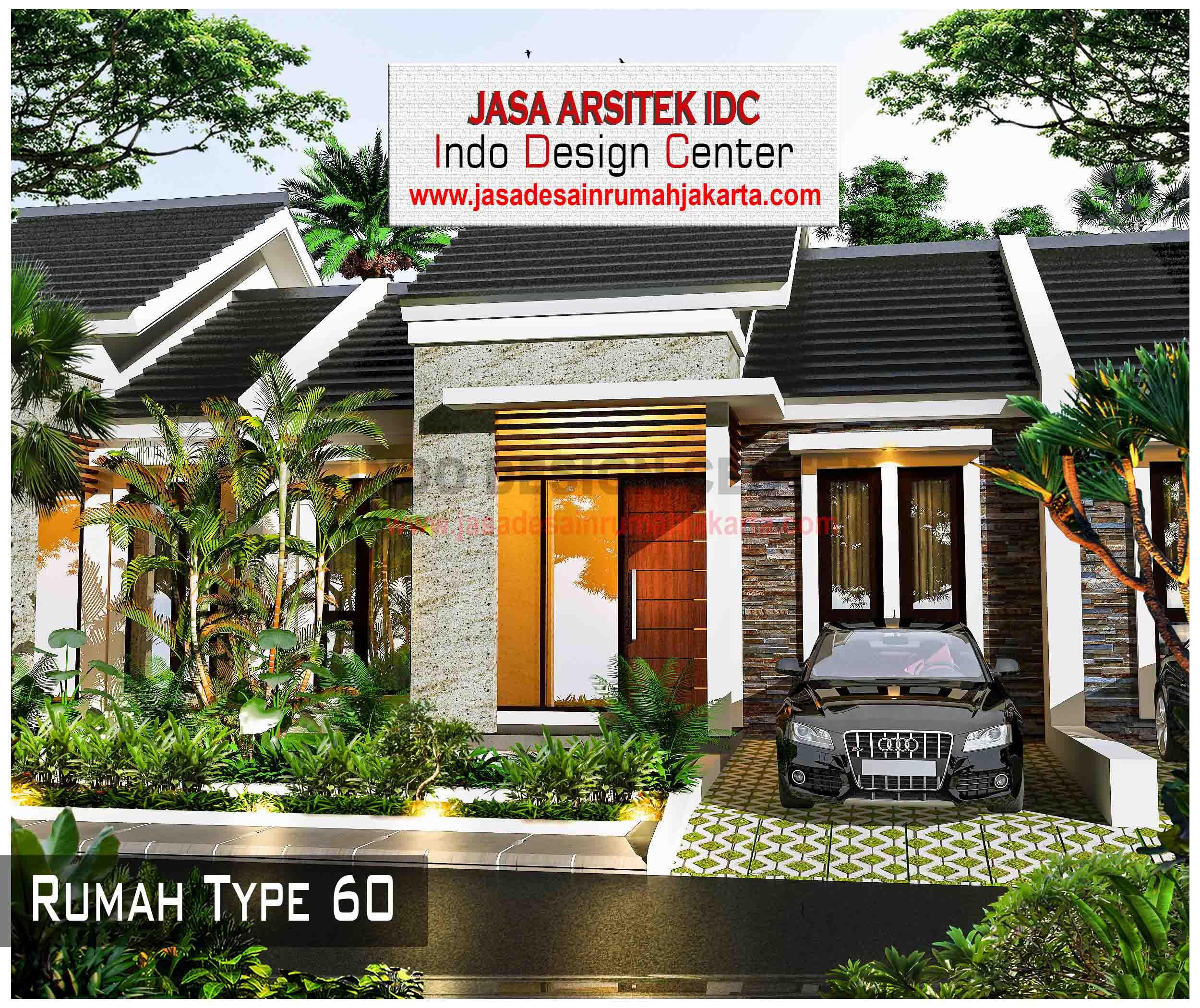 14 Desain Rumah Type 60 Jasa Desain Rumah Jakarta
