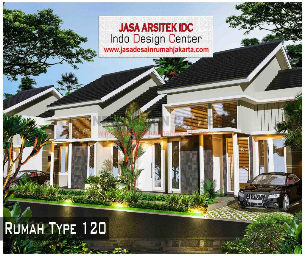 003 - Desain Rumah Type 120 - Jasa Desain Rumah Jakarta