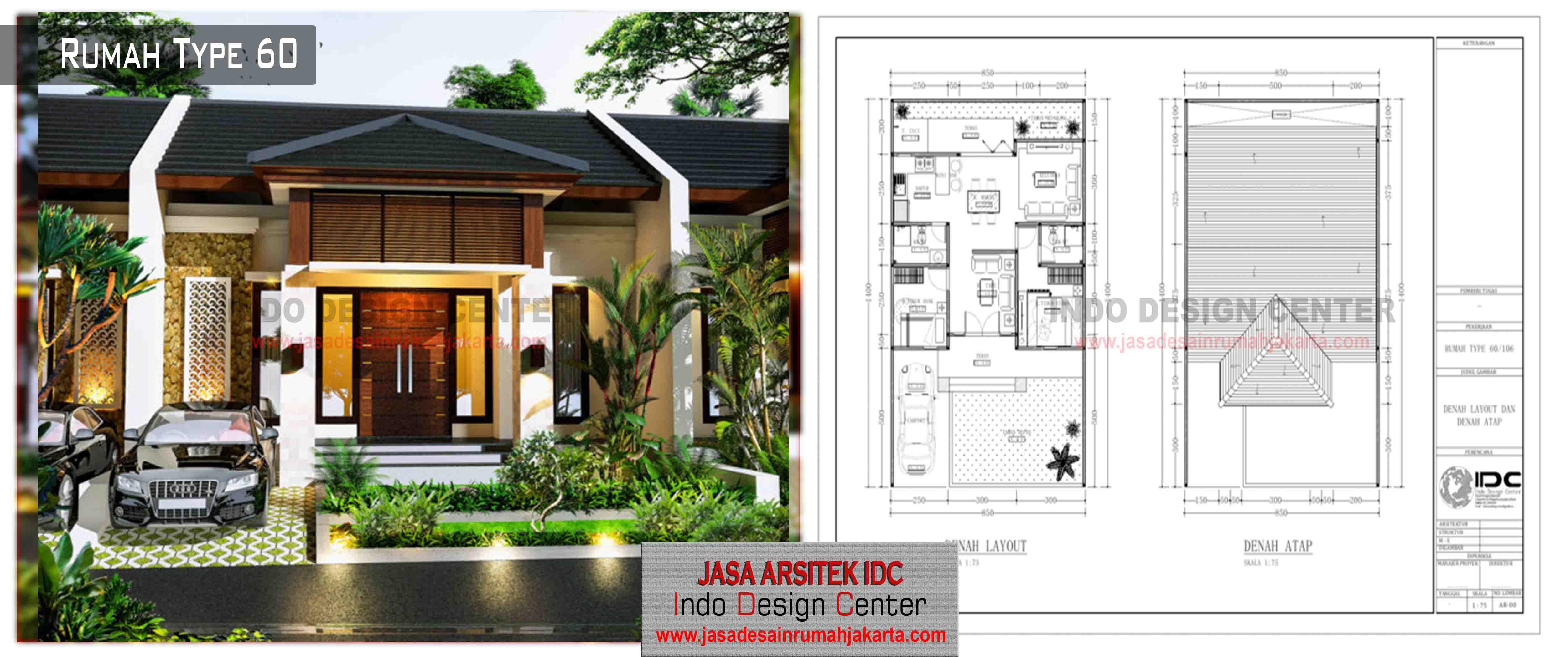 09 Desain Rumah Type 60 Jasa Desain Rumah Jakarta