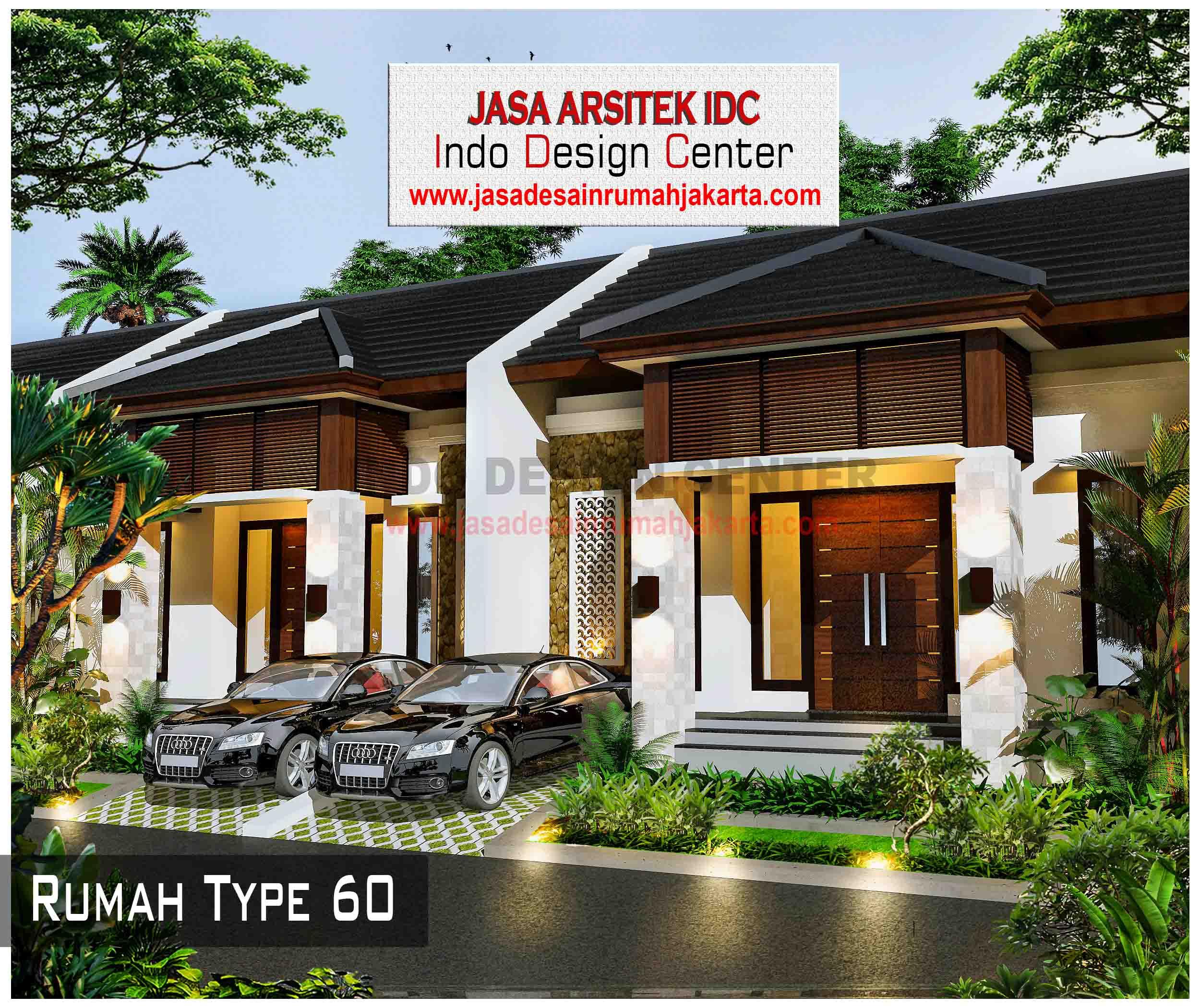 09 - Desain Rumah Type 60 - Jasa Desain Rumah Jakarta ...