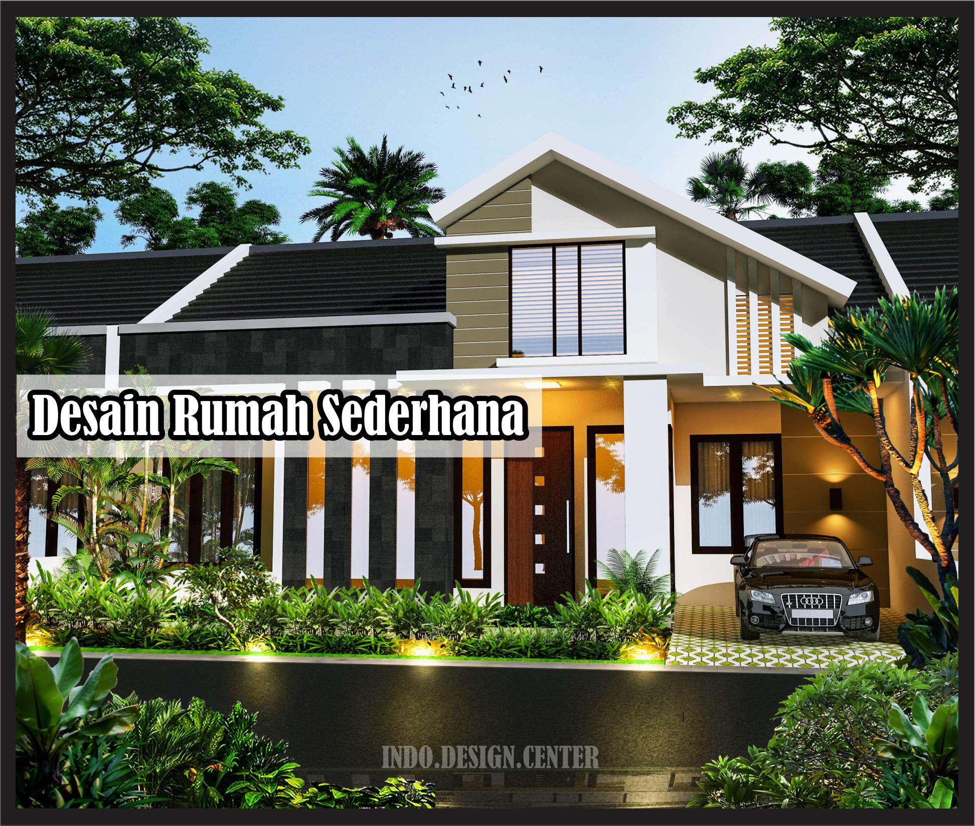 Model Rumah Sederhana Tapi Indah Jasa Desain Rumah