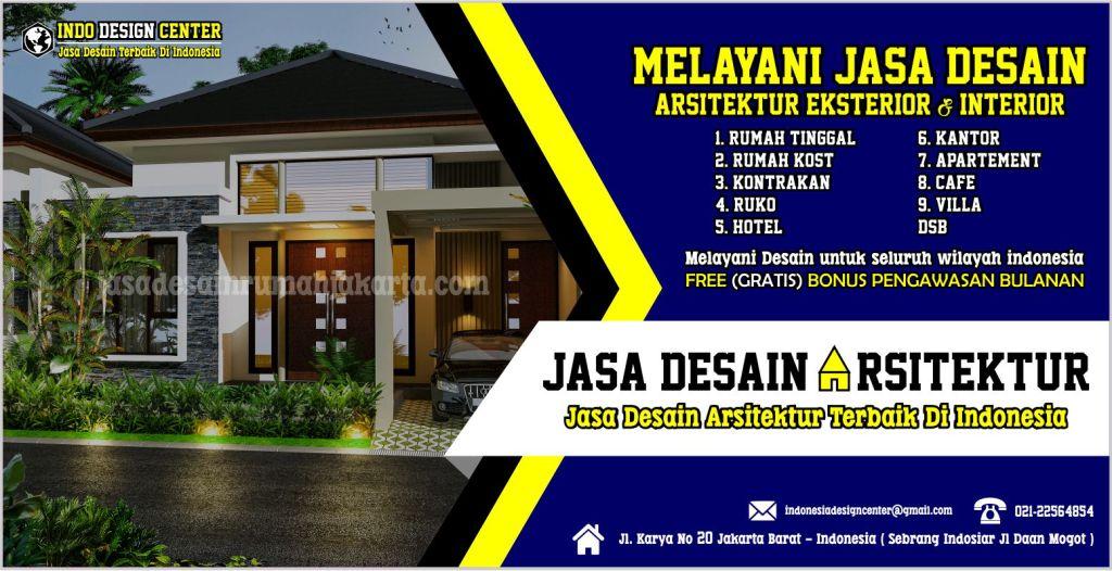 Desain rumah modern terbaru