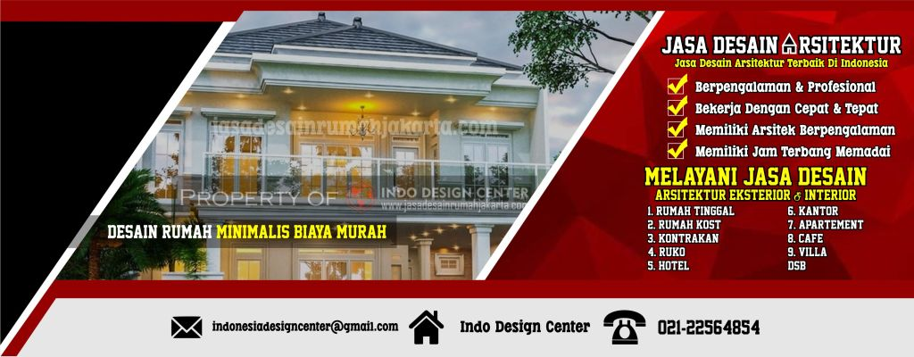 Desain Rumah Minimalis Biaya Murah