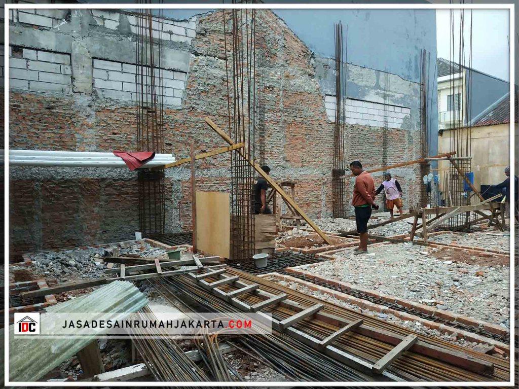 Realiasasi Desain Rumah Minimalis Pak Udin Huang Di Jakarta Barat Kunjungan feb 2019