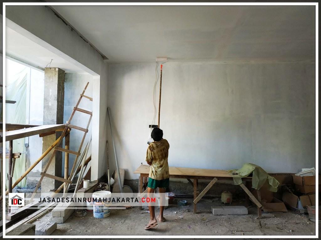Realisasi Desain Rumah Classic Modern Pak Amin Di Jakarta Barat Kunjungan Feb 2019
