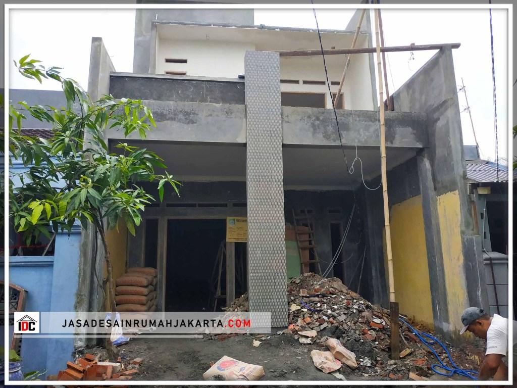 Realisasi Desain Rumah Minimalis Pak Tarsi Di Tangerang Kunjungan Nov 2018