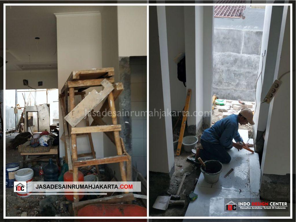 Pengerjaan Finishing Rumah Minimalis Bpk Soni-Arsitek Gambar Rumah Klasik Modern Di Jakarta-Bekasi-Surabaya-Tangerang-Bandung-Jasa Konsultan Desain Arsitek Profesional 1