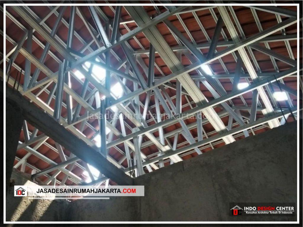Rangka Atap Rumah Minimalis Bpk Soni-Arsitek Gambar Rumah Klasik Modern Di Jakarta-Bekasi-Surabaya-Tangerang-Bandung-Jasa Konsultan Desain Arsitek Profesional 2