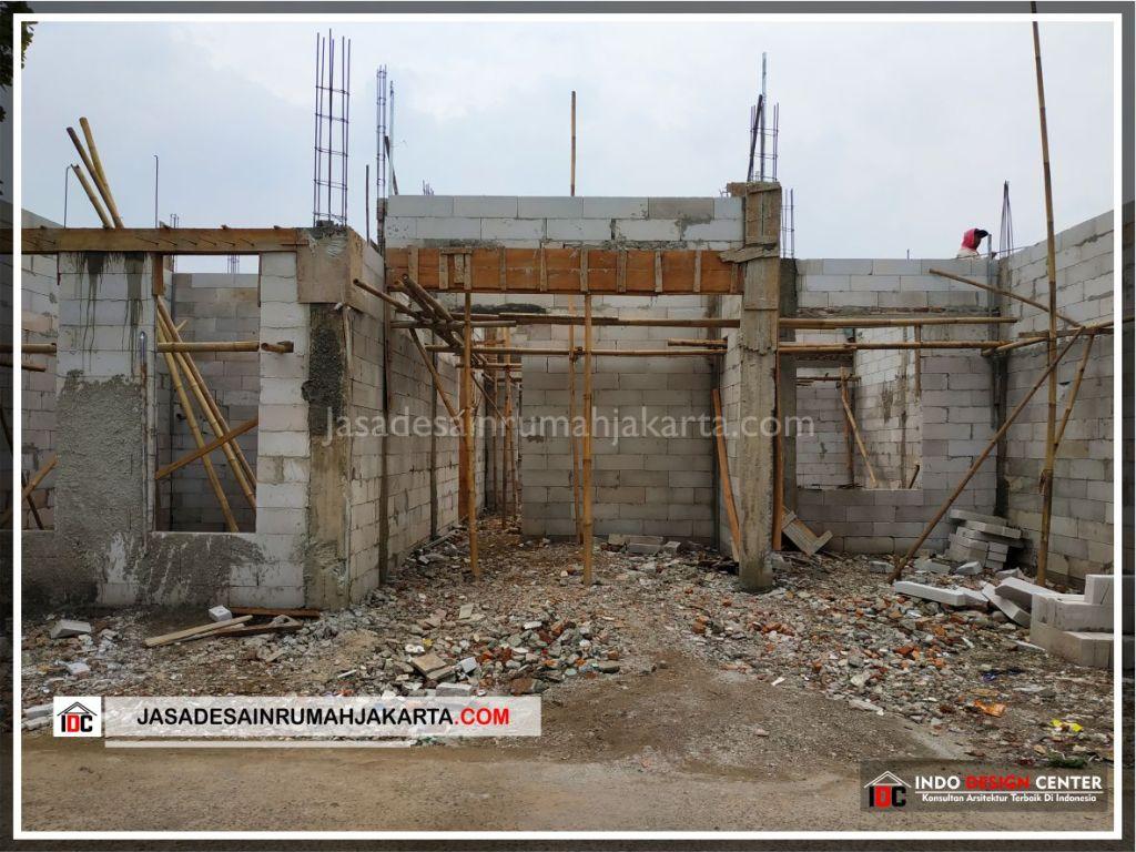 Tampak Depan Rumah Minimalis Bu Citra - Arsitek Gambar Rumah Klasik Modern Di Bekasi-Jakarta-Surabaya-Tangerang-Bandung-Jasa Konsultan Desain Arsitek Profesional 1