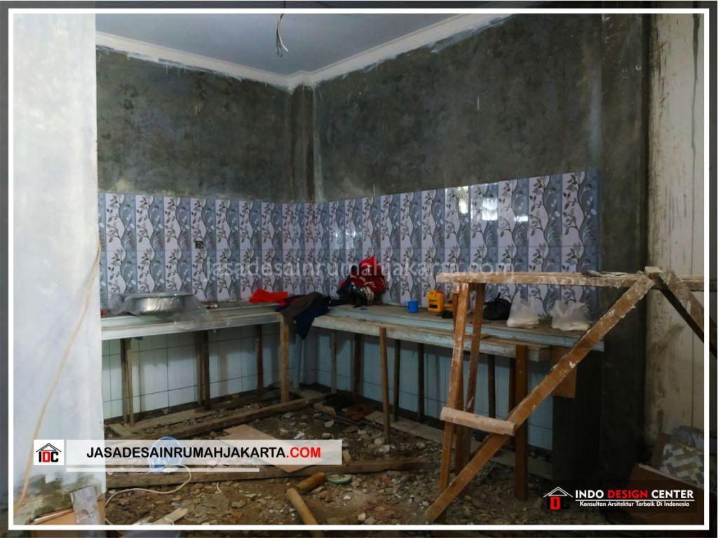 Pengerjaan Dapur Rumah Bpk Tarsi-Arsitek Gambar Desain Rumah Minimalis Modern Di Tangerang-Jakarta-Surabaya-Bekasi-Bandung-Jasa Konsultan Desain Arsitek Profesional 1