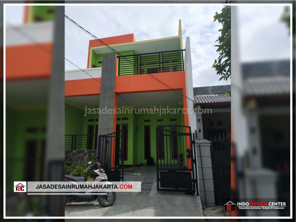 Realisasi Rumah Bpk Tarsi-Arsitek Gambar Desain Rumah Minimalis Modern Di Tangerang-Jakarta-Surabaya-Bekasi-Bandung-Jasa Konsultan Desain Arsitek Profesional 2