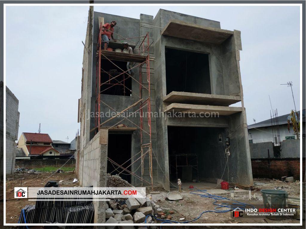 Pengerjaan Acian Rumah Bpk Tito-Arsitek Gambar Desain Rumah Minimalis Modern Di Bekasi-Jakarta-Surabaya-Tangerang-Jasa Konsultan Desain Arsitek Profesional 1