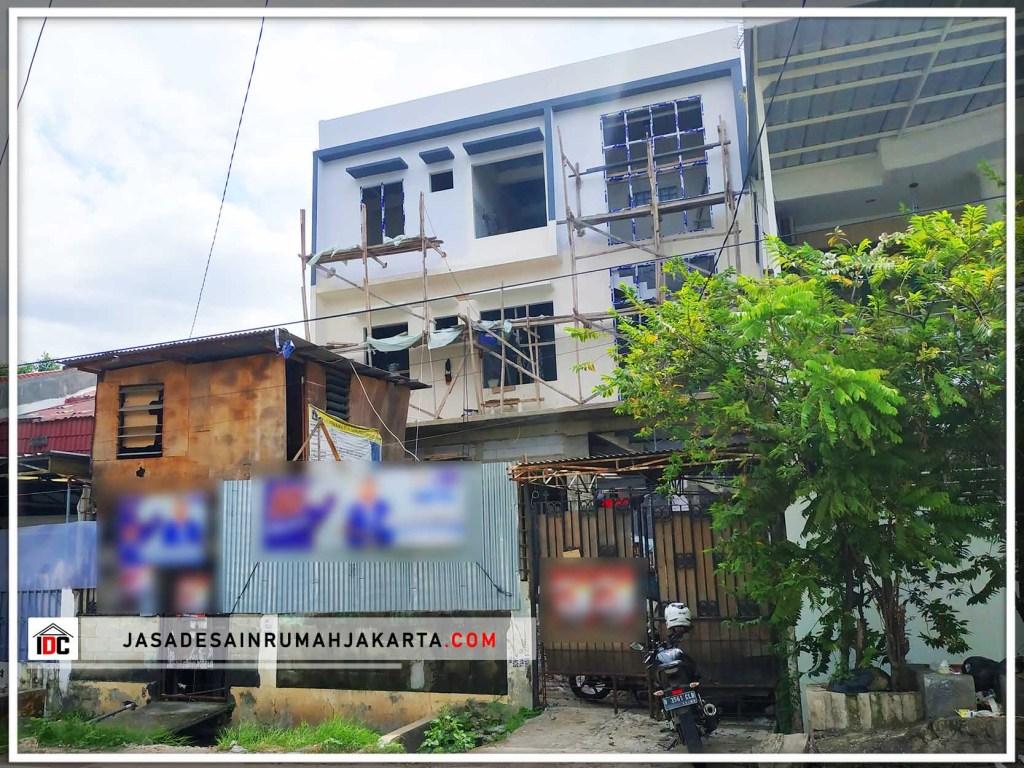 Realisasi Jasa Desain Ruko Di Jakarta Barat Kunjungan Mar 2019