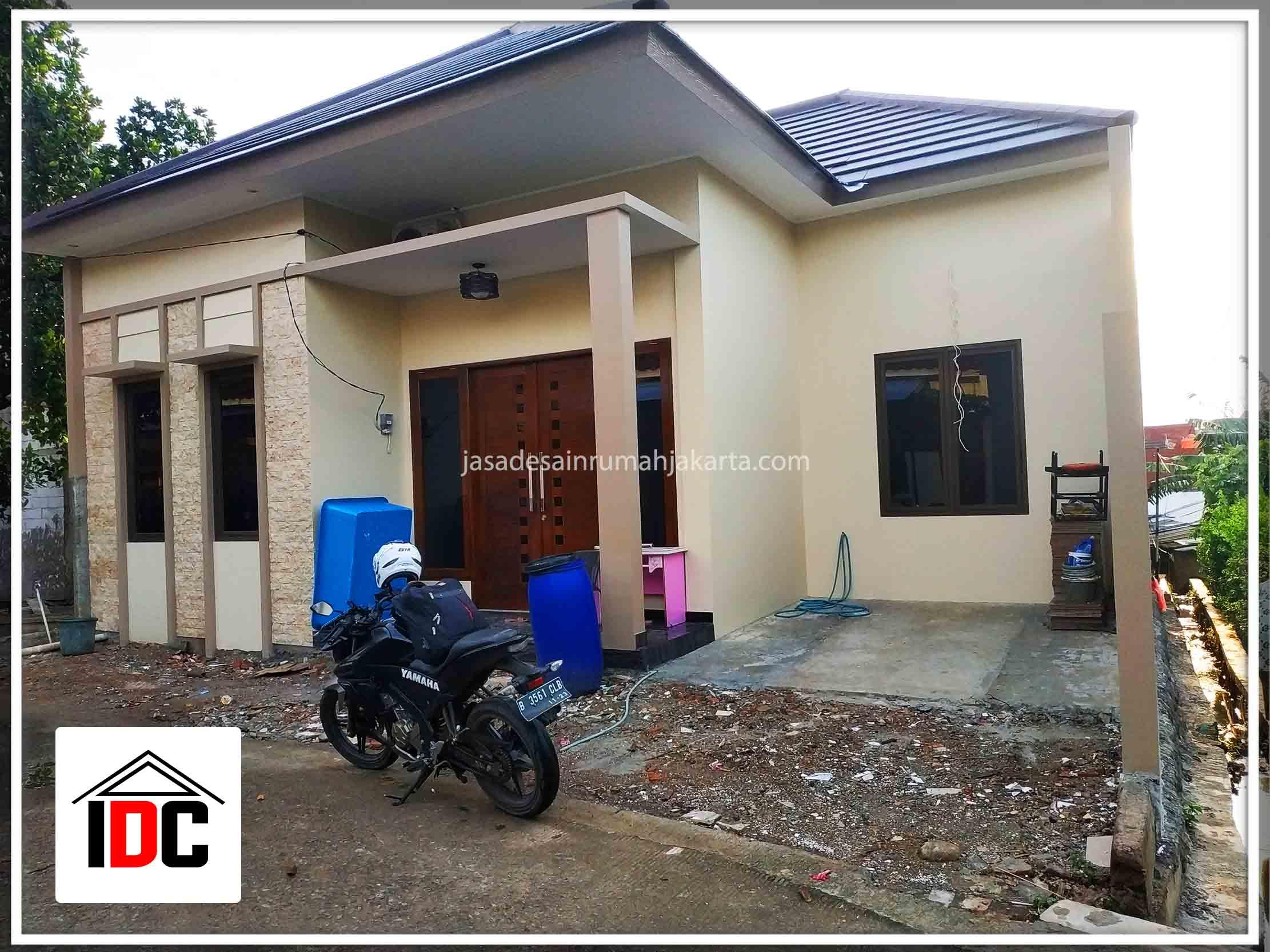 Realisasi Desain Rumah Minimalis Ibu Citra Kunjungan April 2019