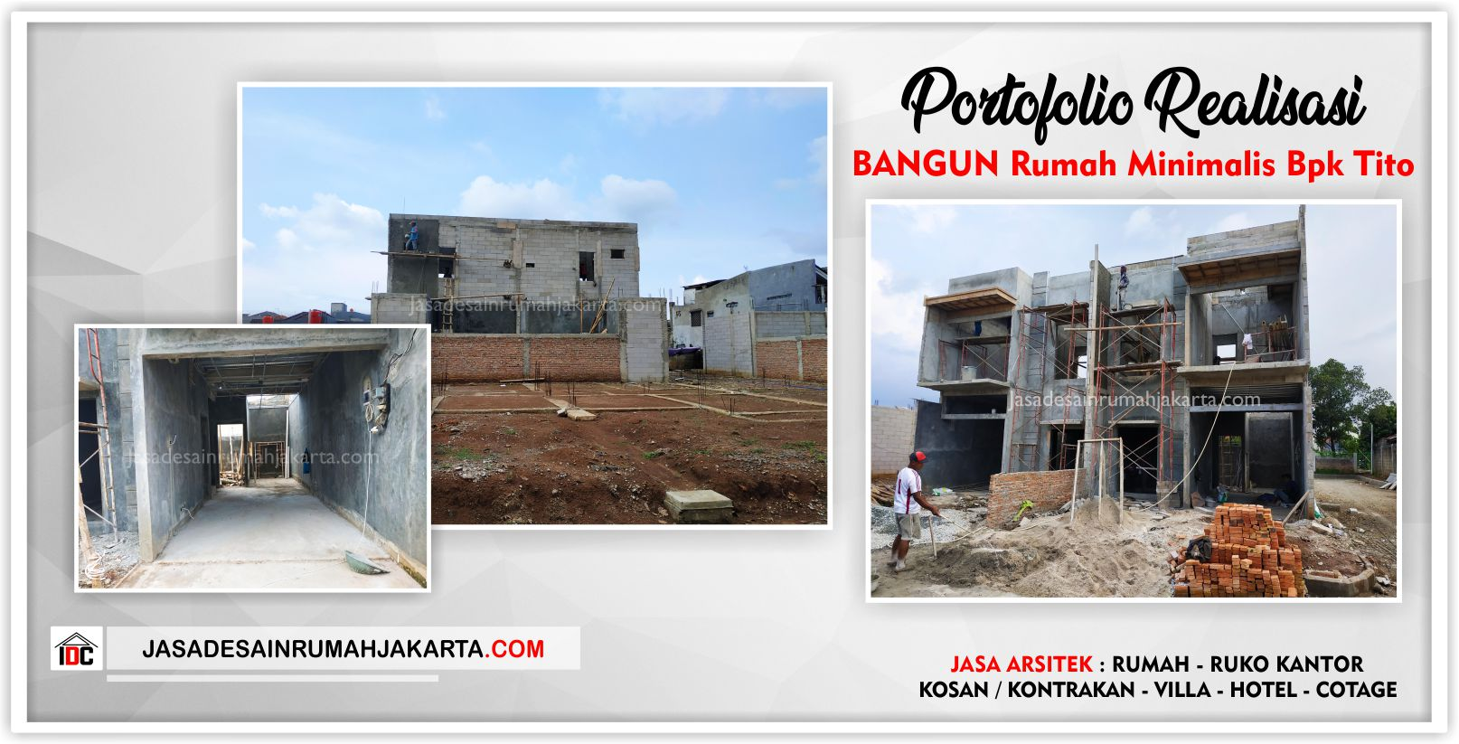 Realisasi Kunjungan Rumah Bpk Tito-Arsitek Gambar Desain Rumah Minimalis Modern Di Bekasi-Jakarta-Surabaya-Tangerang-Jasa Konsultan Desain Arsitek Profesional 2