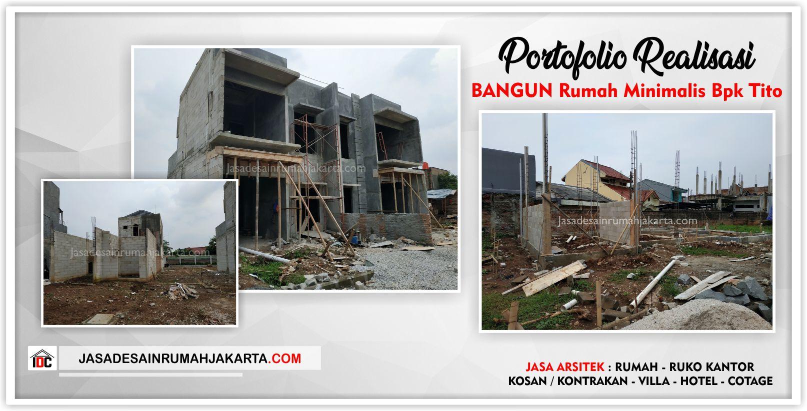 Realisasi Kunjungan Rumah Bpk Tito-Arsitek Gambar Desain Rumah Minimalis Modern Di Bekasi-Jakarta-Surabaya-Tangerang-Jasa Konsultan Desain Arsitek Profesional 3
