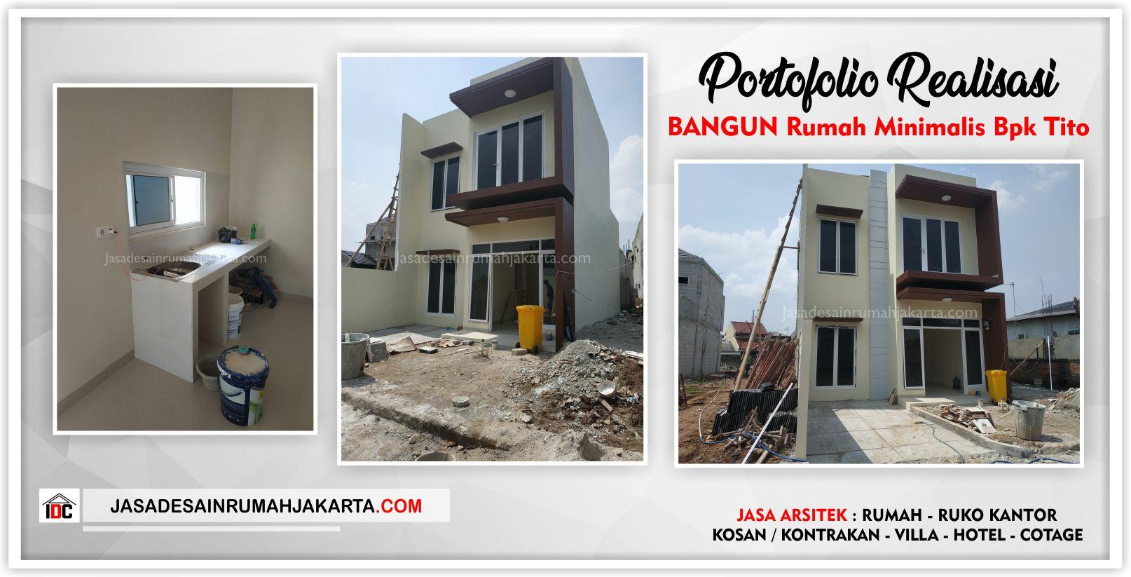 Realisasi Kunjungan Rumah Bpk Tito-Arsitek Gambar Desain Rumah Minimalis Modern Di Bekasi-Jakarta-Surabaya-Tangerang-Jasa Konsultan Desain Arsitek Profesional 4