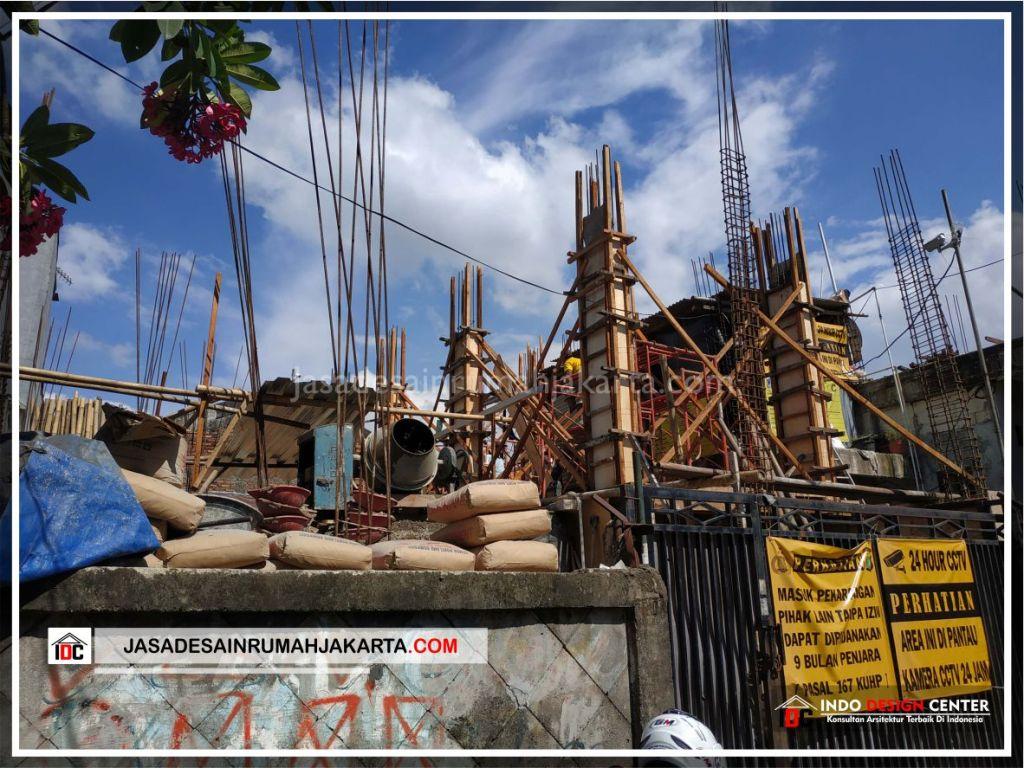 Struktur Kolom Rumah Bpk Ricardo-Arsitek Gambar Desain Rumah Minimalis Modern Di Jakarta-Tangerang-Surabaya-Bekasi-Bandung-Depok-Jasa Konsultan Desain Arsitek 3