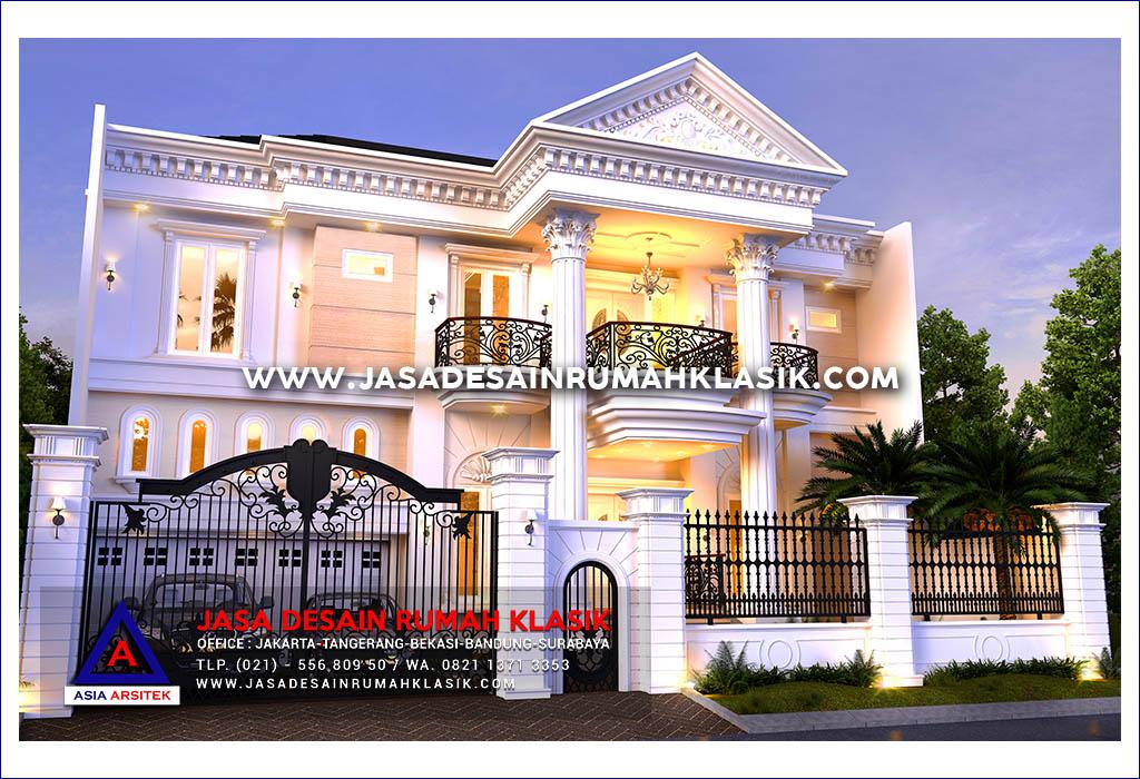 Jasa Arsitek Desain Rumah Klasik Mewah Di Jakarta