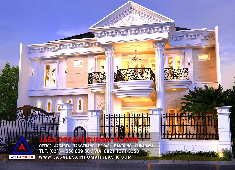 Jasa Desain Rumah Klasik Mewah Di Jakarta Tangerang Bekasi Bandung Surabaya