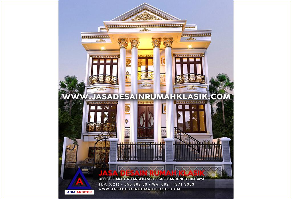 Jasa Arsitek Desain Rumah Klasik Mewah Di Jakarta Selatan