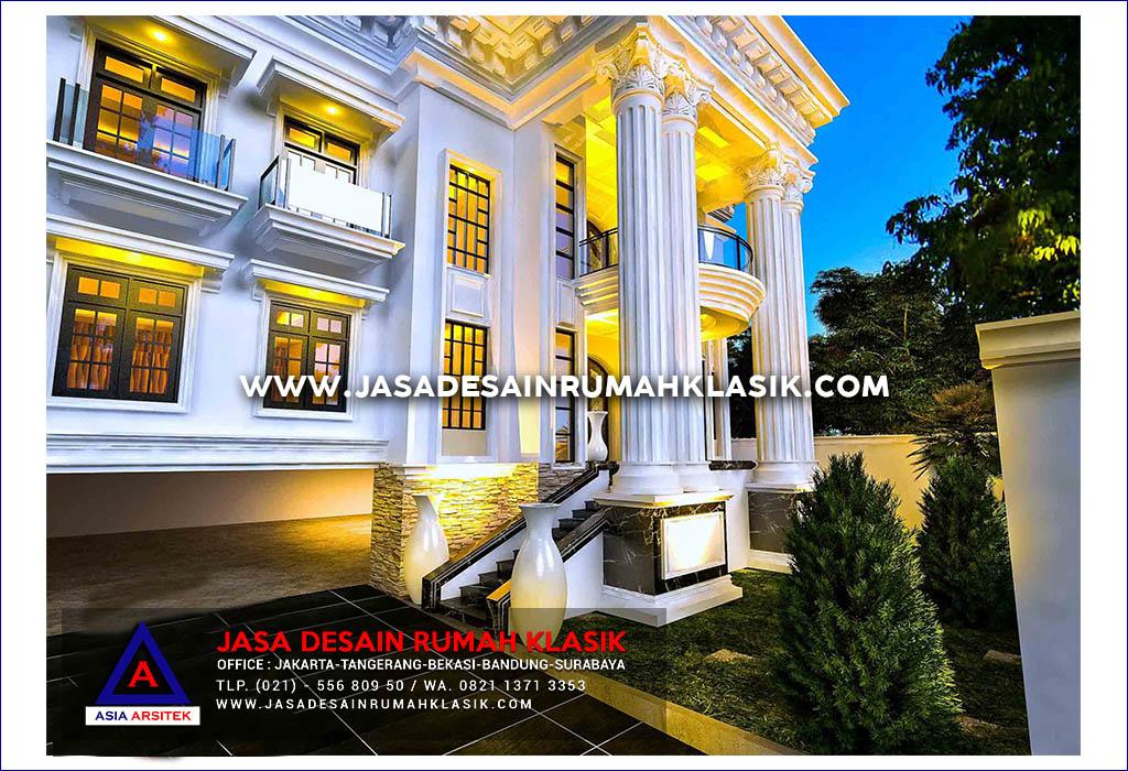 Jasa Desain Rumah Klasik Mewah Di Jakarta Selatan
