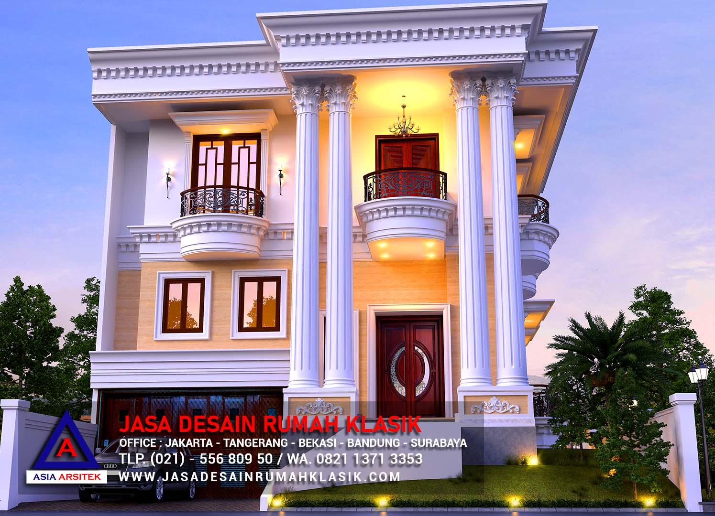 Jasa Arsitek Desain Rumah Klasik Mewah Di Surabaya Asia Arsitek