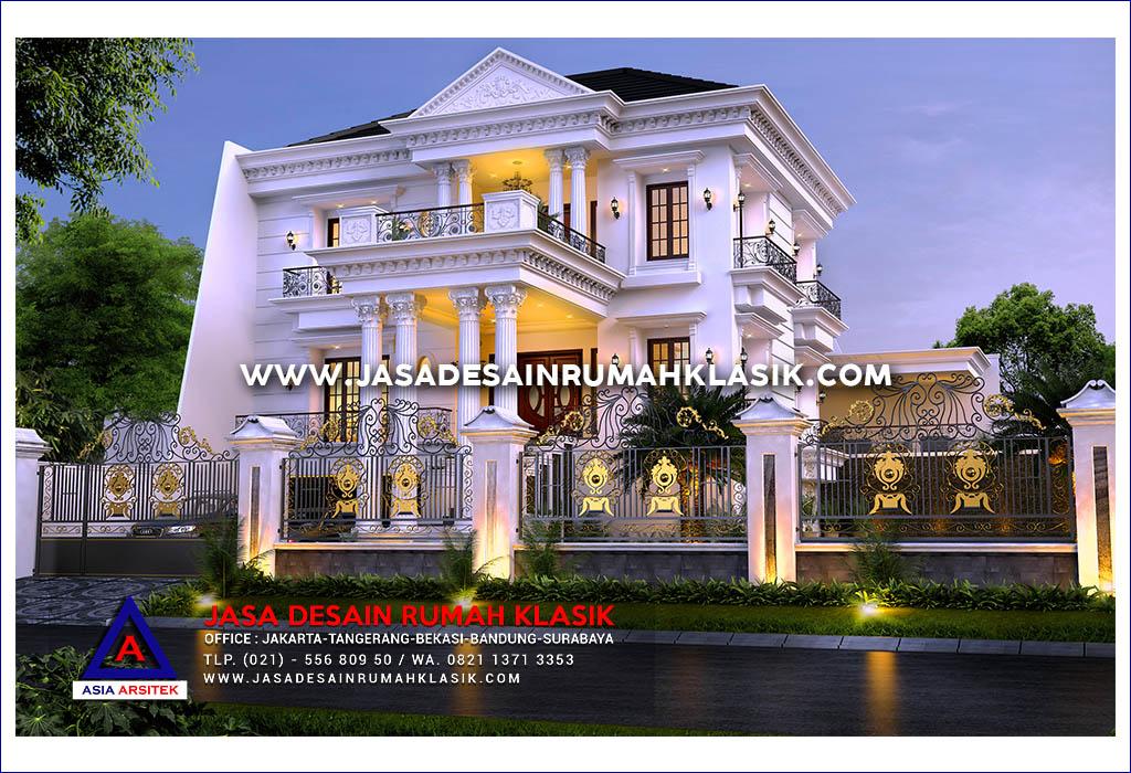 Jasa Desain Rumah Klasik Mewah Di Sentul Jawa Barat