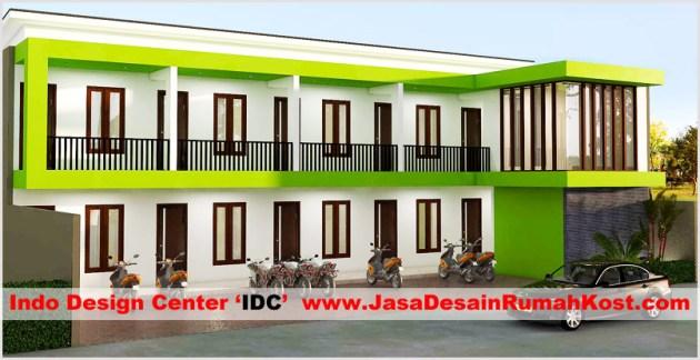 Desain Rumah Kost 2 Lantai Di Cipinang b