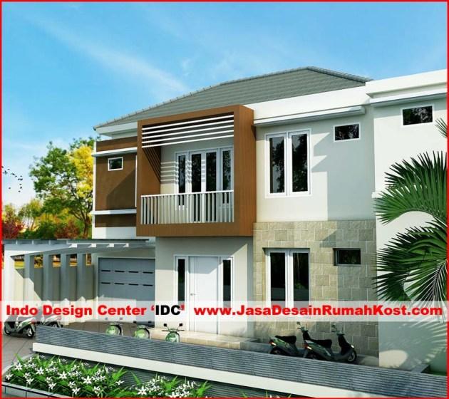 Desain Rumah Kost 2 Lantai Di Kebon Jeruk 2
