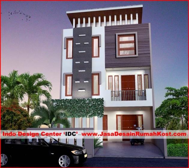 Desain Rumah Kost 3 Lantai di Tambora b