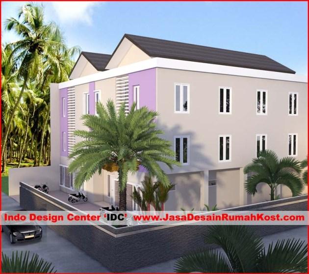 Desain Rumah Kost Di BSD Serpong 1