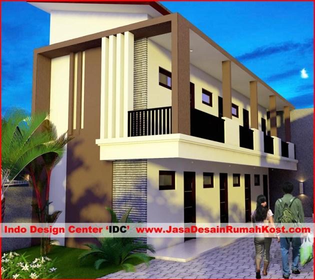 Desain Rumah Kost di Jatiasih Bekasi b