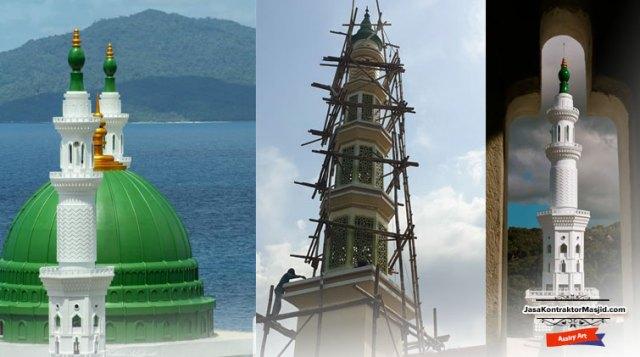 kontraktor menara masjid