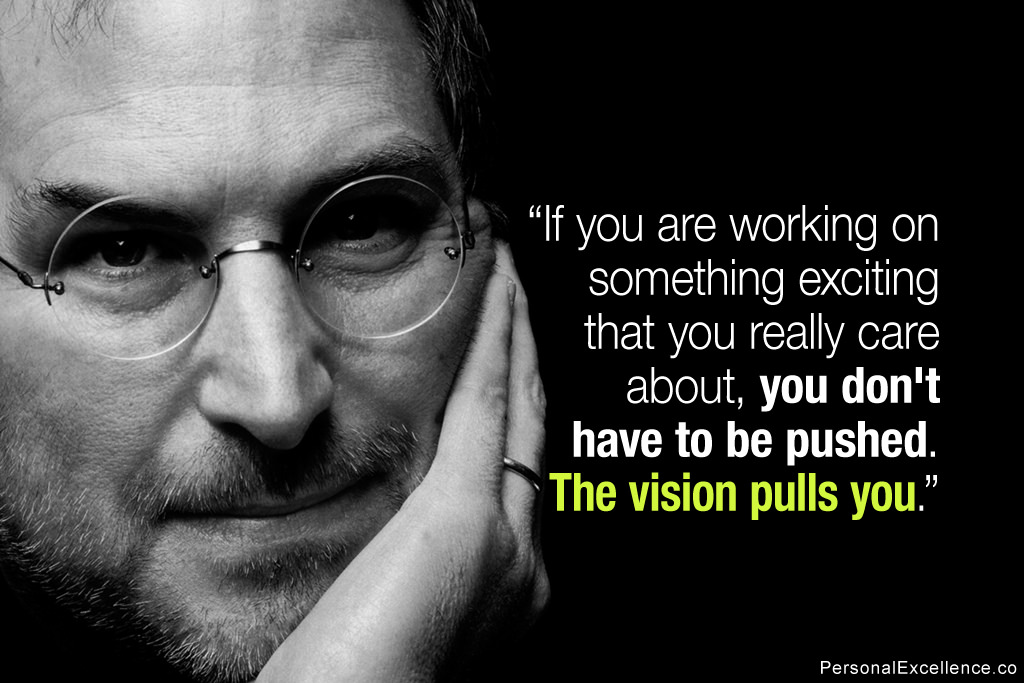 Passion Quote - Steve Jobs