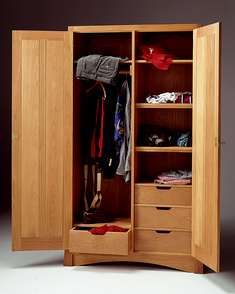 Arts And Crafts Armoire Mission Armoire Wardrobe