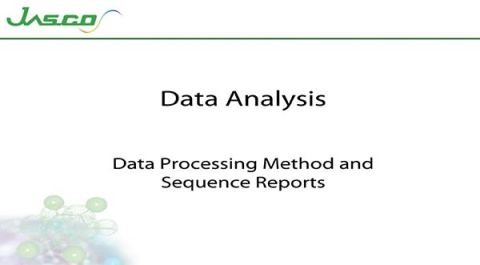 Data Processing Method and Sequence Report
