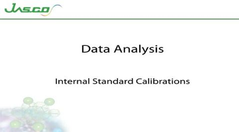 Internal Standard Calibrations