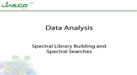 Spectral Library Building and Spectral Searches